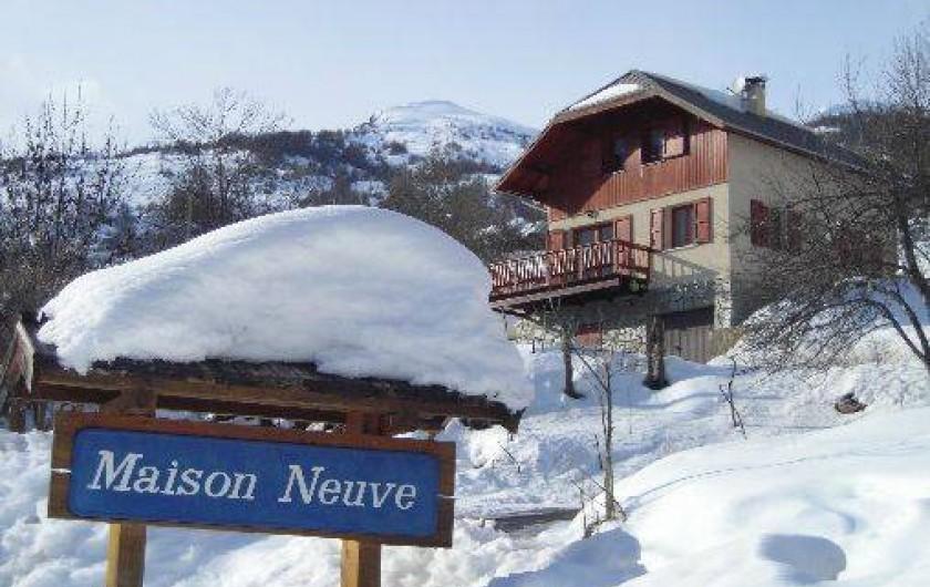 Location de vacances - Maison - Villa à Freissinières