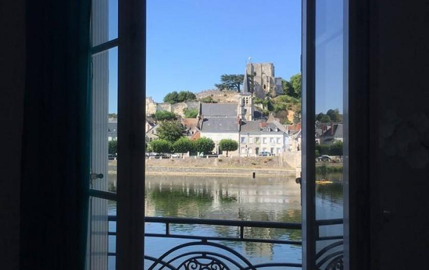Location de vacances - Gîte à Faverolles-sur-Cher - vue des chambres et du salon séjour