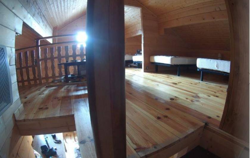 Location de vacances - Chalet à Le Collet d'Allevard - mezzanine