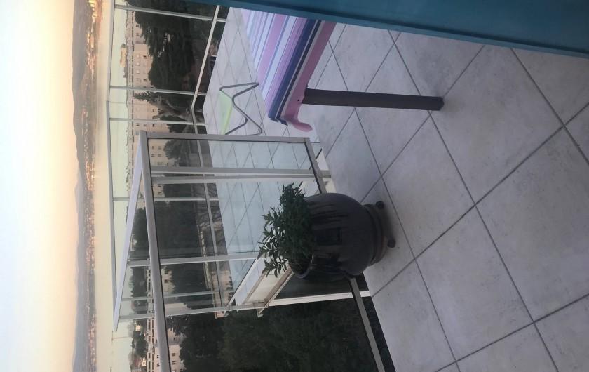 Location de vacances - Chambre d'hôtes à Sète - Terrasse de la chambre