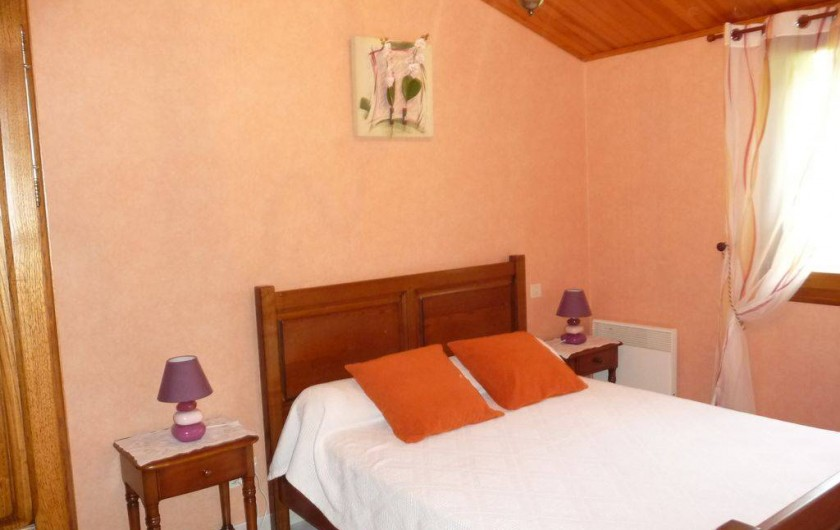 Location de vacances - Maison - Villa à Sainte-Énimie - 1ère Chambre 140/200