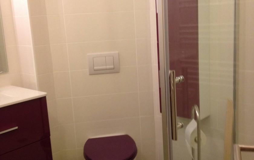 Location de vacances - Appartement à Le Corbier - Etage / salle de bain + WC