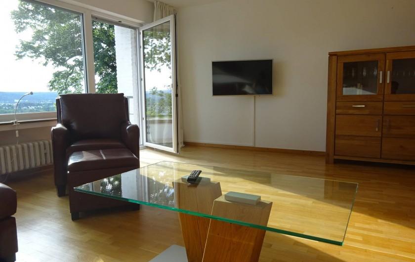 Location de vacances - Appartement à Linz - Salon spacieux - Option pour 2 lits pliables en supplément