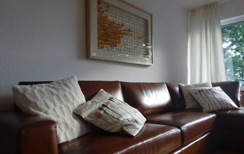 Location de vacances - Appartement à Linz - Salon Avec ameublement confortable