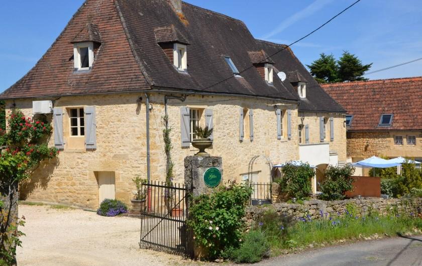 Location de vacances - Gîte à Sainte-Mondane - Arrivée au gite