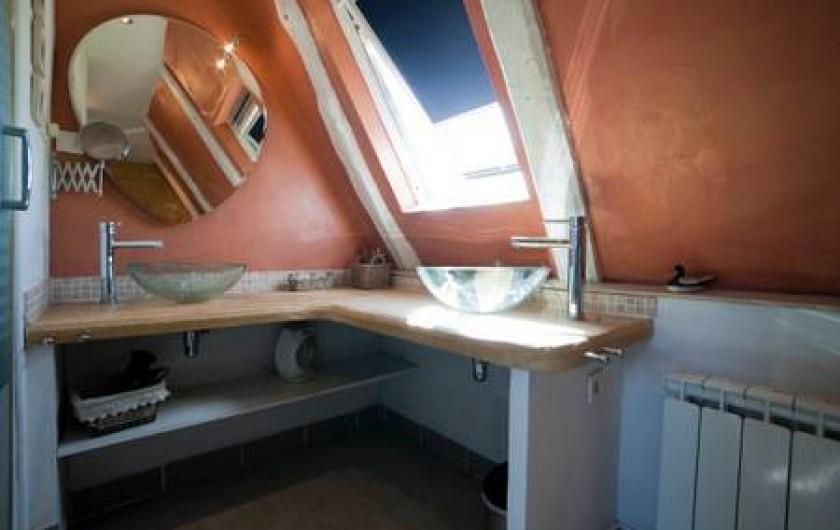 Location de vacances - Gîte à Sainte-Mondane - Salle de bains
