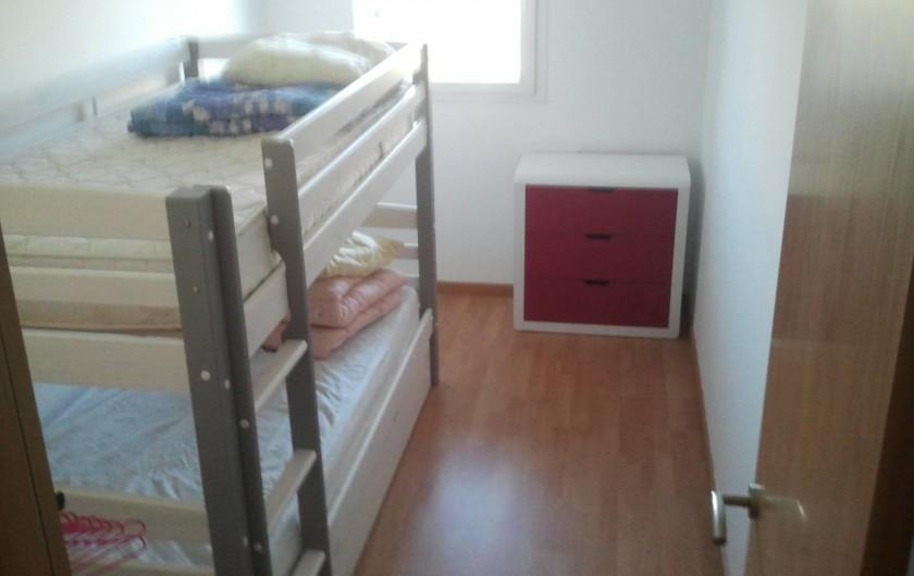 Location de vacances - Appartement à Empuriabrava - petite chambre n°3