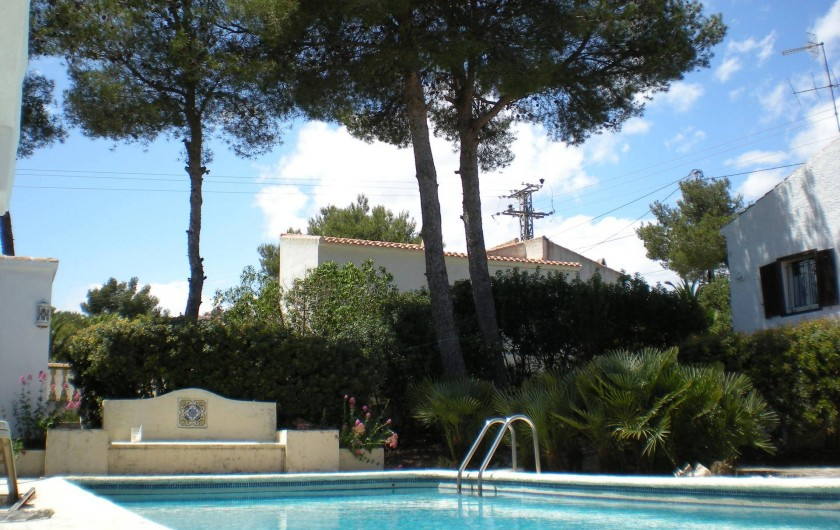 Location de vacances - Villa à Xàbia - Jolie piscine privative plein sud