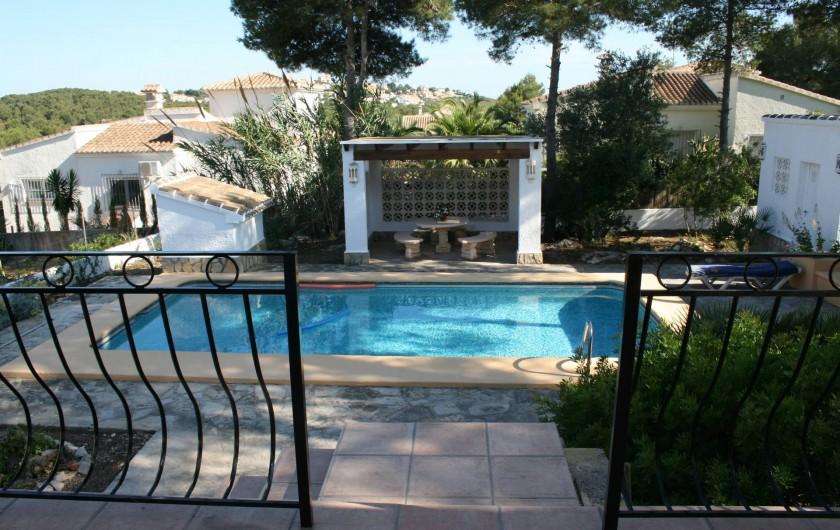 Location de vacances - Villa à Xàbia - Vue depuis la terrasse