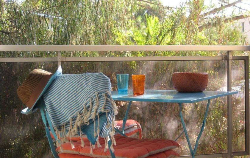 Location de vacances - Appartement à Bandol - Retour de la plage