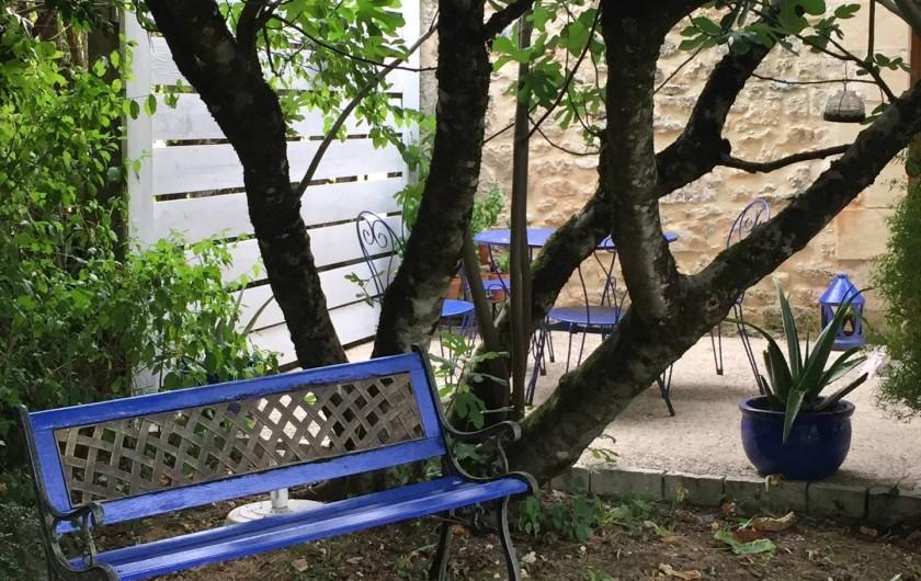 Location de vacances - Gîte à Saint-Rabier - Terrasse privative
