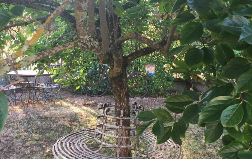 Location de vacances - Gîte à Saint-Rabier - A l'ombre du plaqueminier