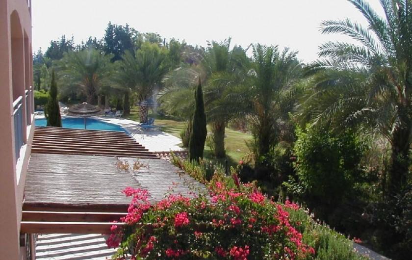 Location de vacances - Appartement à Kato Paphos - Vue depuis la terrasse