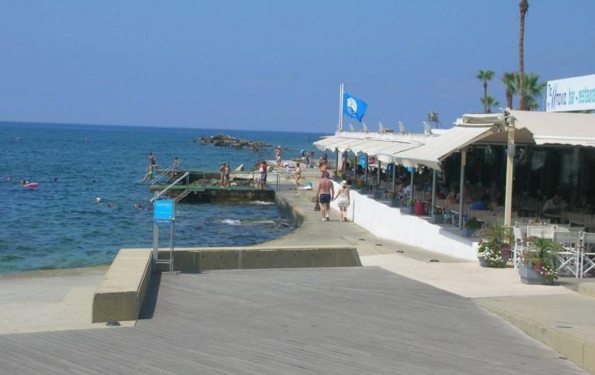 Location de vacances - Appartement à Kato Paphos - Municipal beach (Ta Mpania), à 15' à pied de l'appartement