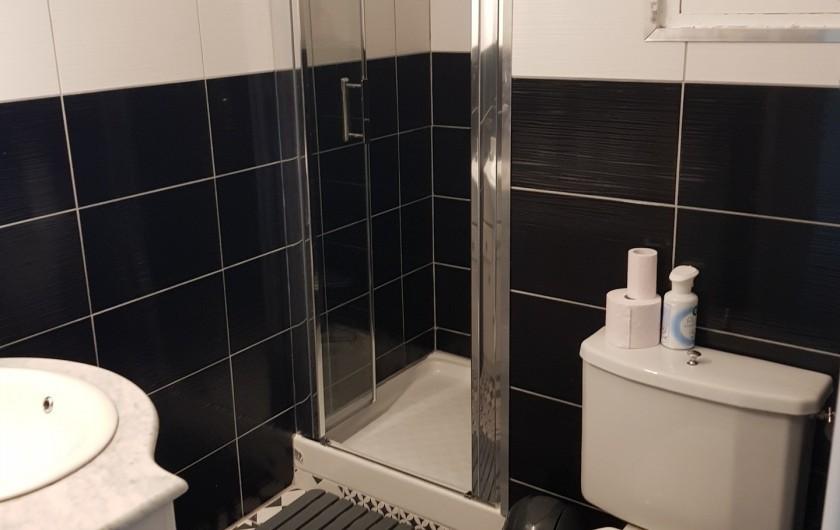 Location de vacances - Appartement à Argelès-sur-Mer - sale de douche /WC