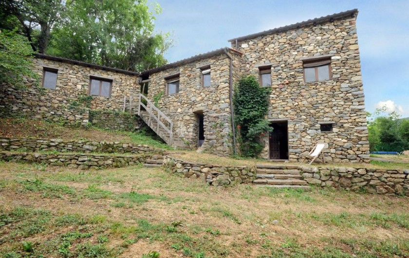 Location de vacances - Mas à Arles-sur-Tech - chemin et studio