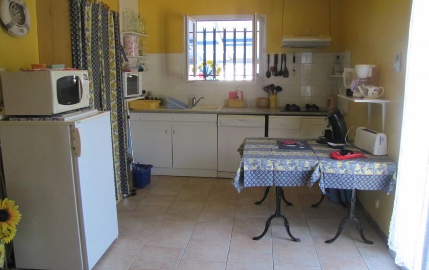 Location de vacances - Villa à Soulac-sur-Mer - Coin Cuisine