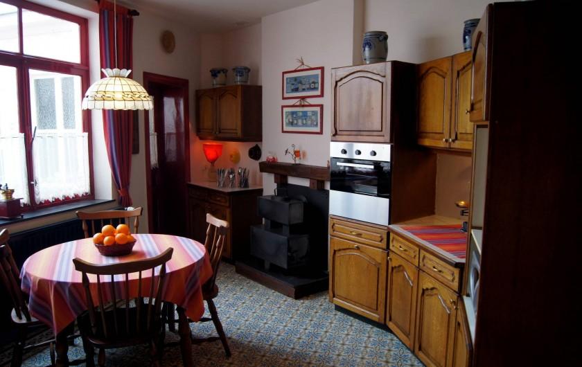 Location de vacances - Gîte à Grupont - cuisine