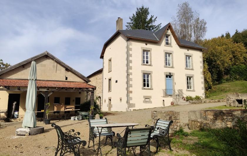 Location de vacances - Villa à Saint-Moreil - Murs maison reparé 2020