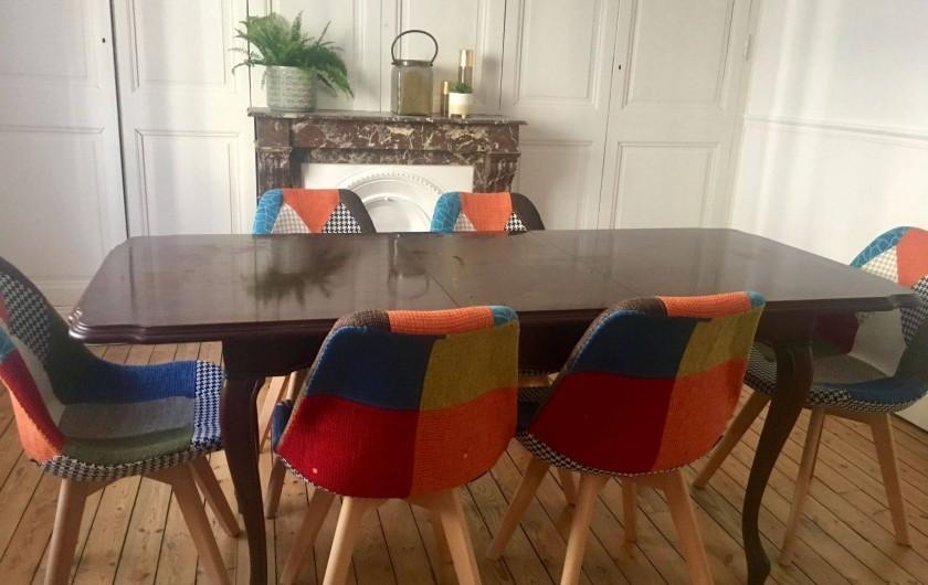 Location de vacances - Maison - Villa à Berck - c' est dans ce salon que vous pourrez manger