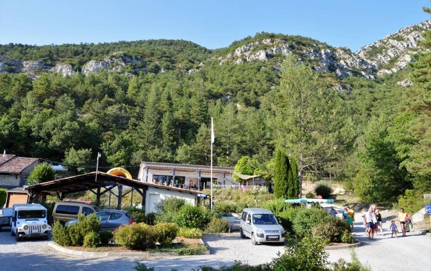 Location de vacances - Bungalow - Mobilhome à Serres - Une vue du camping