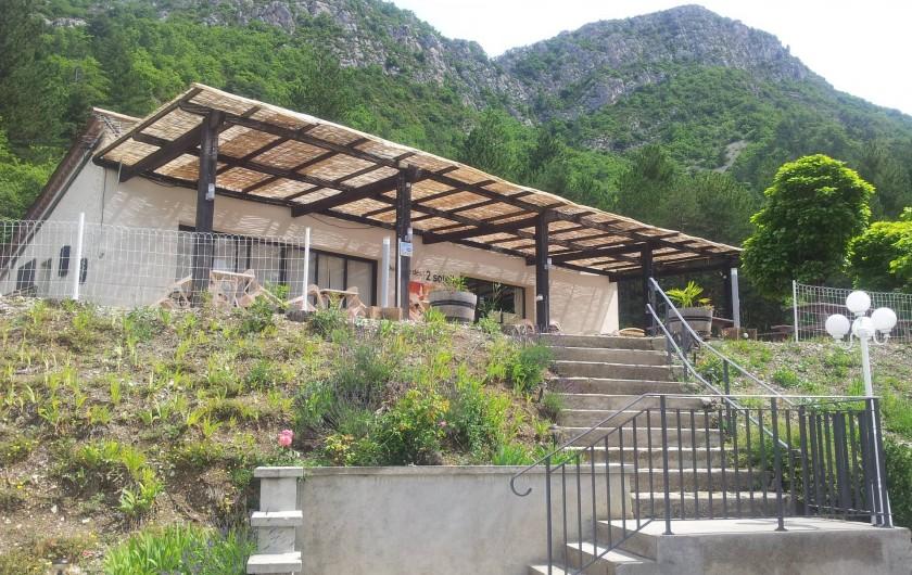 Location de vacances - Bungalow - Mobilhome à Serres - Restaurant Snack