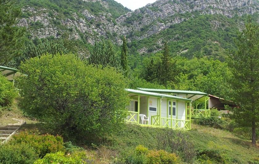 Location de vacances - Bungalow - Mobilhome à Serres - Chalet