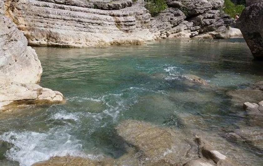 Location de vacances - Bungalow - Mobilhome à Serres - Les Gorges de la Méouge