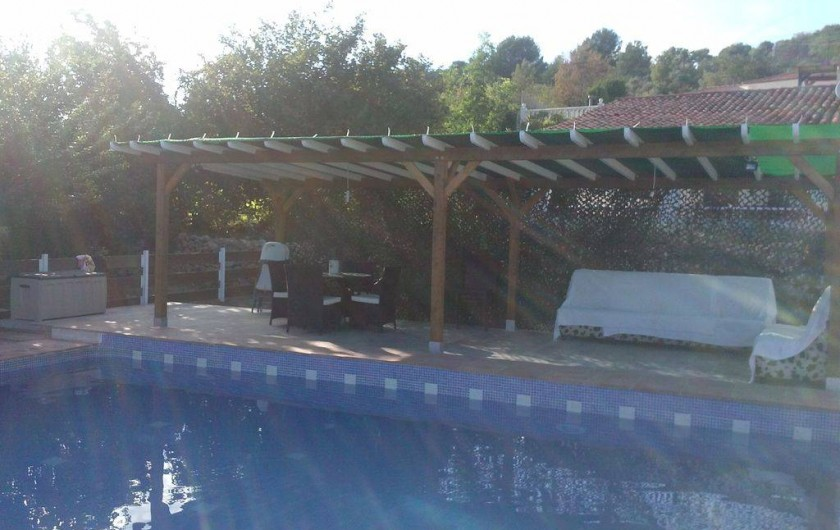 Location de vacances - Villa à Parcent - Piscina y terreza privada