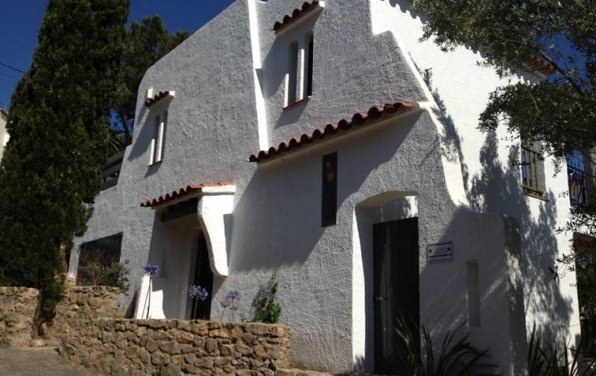 Location de vacances - Villa à L'Escala - Entrée secondaire