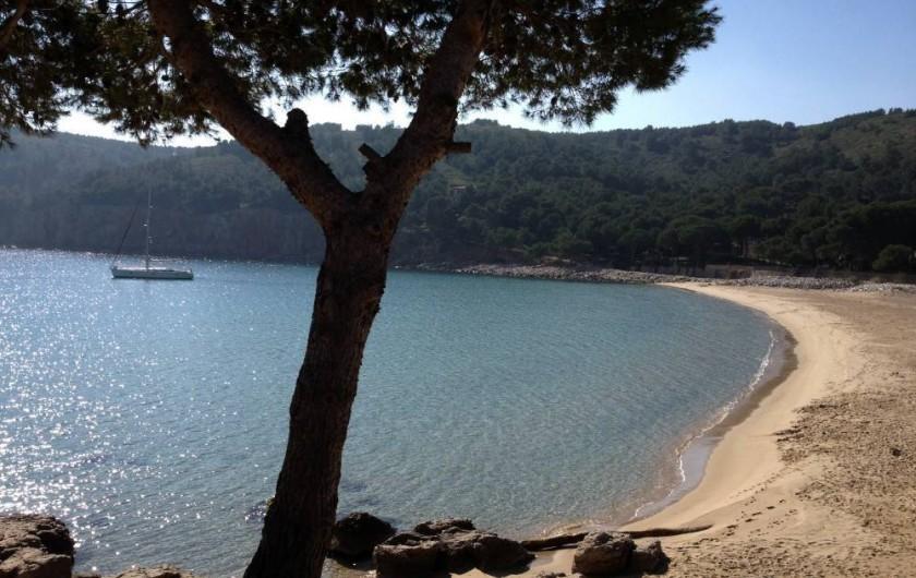 Location de vacances - Villa à L'Escala - Crique Montgo