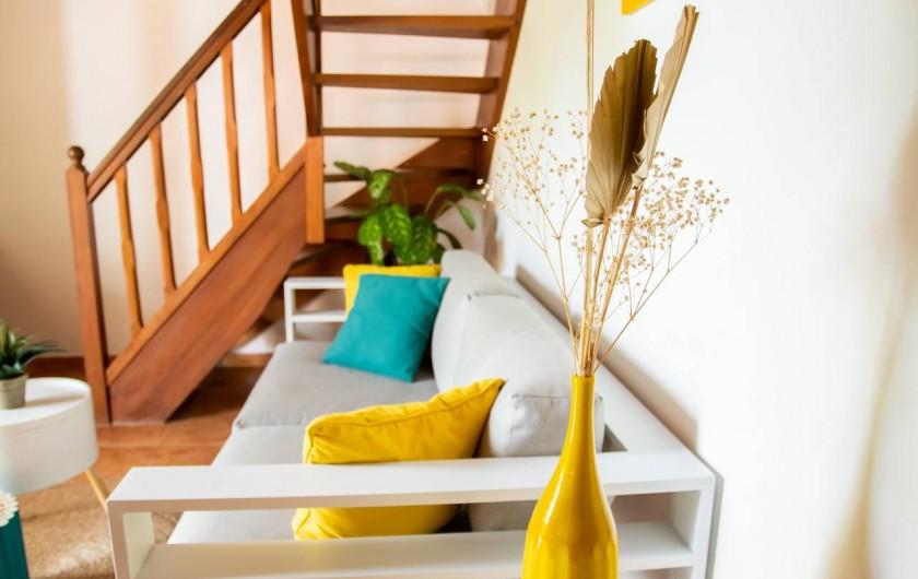 Location de vacances - Villa à Sainte-Anne - SALON VILLA FOUFOU