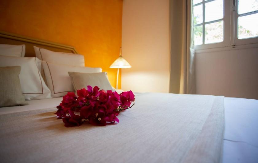 Location de vacances - Villa à Sainte-Anne - CHAMBRE DU BAS VILLA FOUFOU