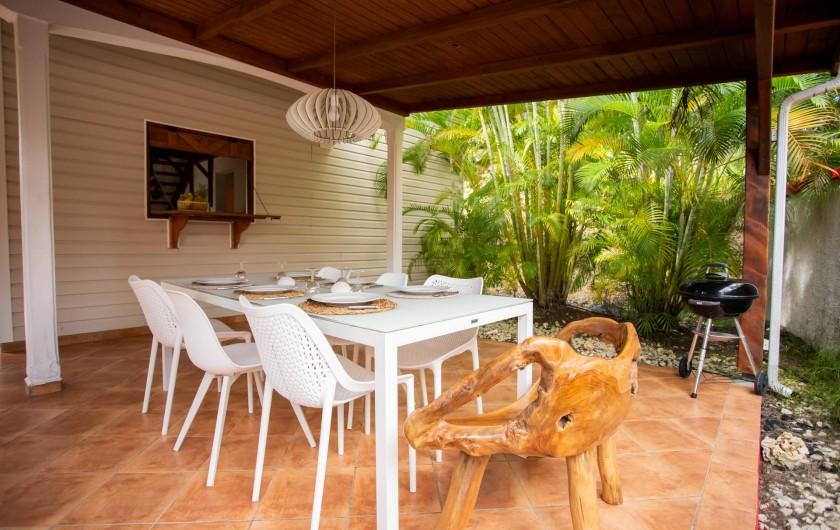 Location de vacances - Villa à Sainte-Anne - TERRASSE FOUFOU