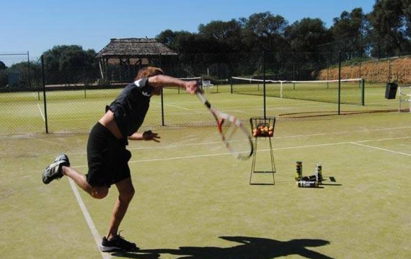 Location de vacances - Villa à Benalup-Casas Viejas - 3 terrains de tennis