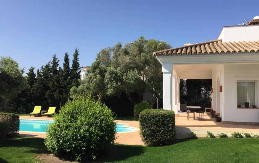 Location de vacances - Villa à Benalup-Casas Viejas - Terrasse sans protection.