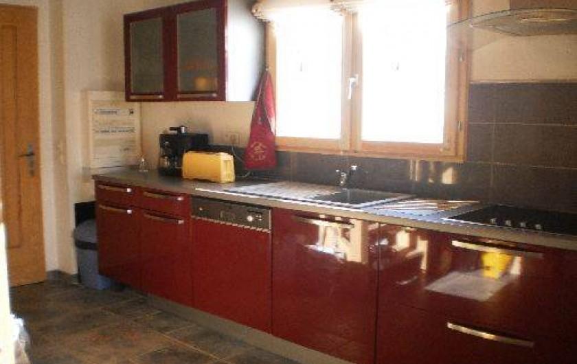 Location de vacances - Chalet à Mizoën - cuisine