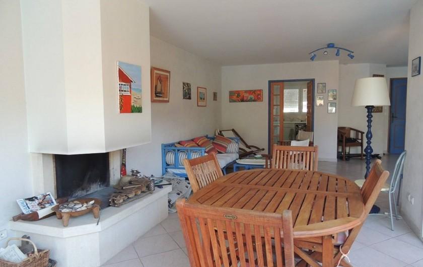 Location de vacances - Villa à Lacanau Océan - Salle à manger