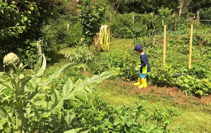 Location de vacances - Maison - Villa à Payrac - le potagé Bio du Colombé