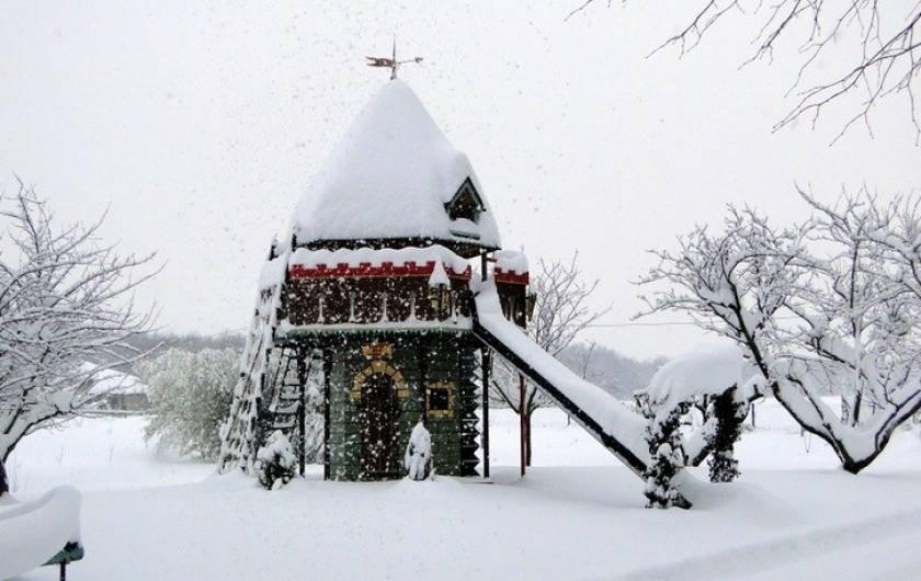 Location de vacances - Gîte à Saint-Vérand - même en hiver je préfère l'Isère. Stations de ski à 50 mn en  voiture