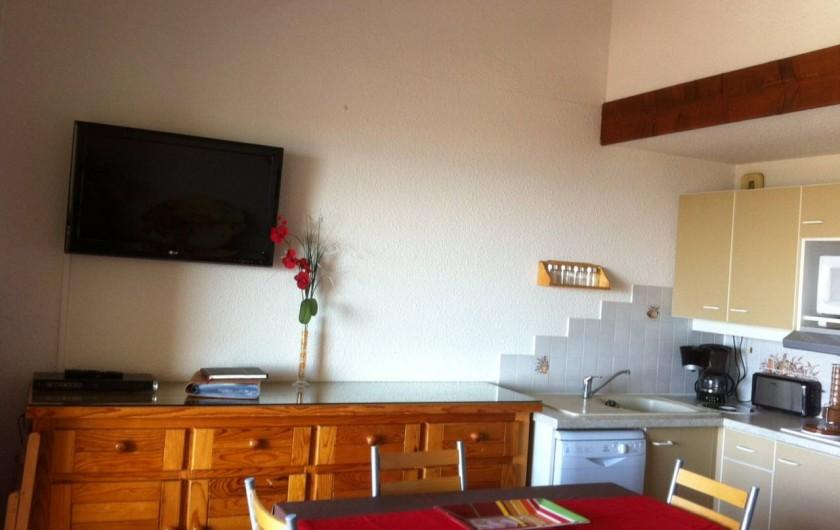 Location de vacances - Appartement à Saint-Pierre la Mer - Coin Séjour