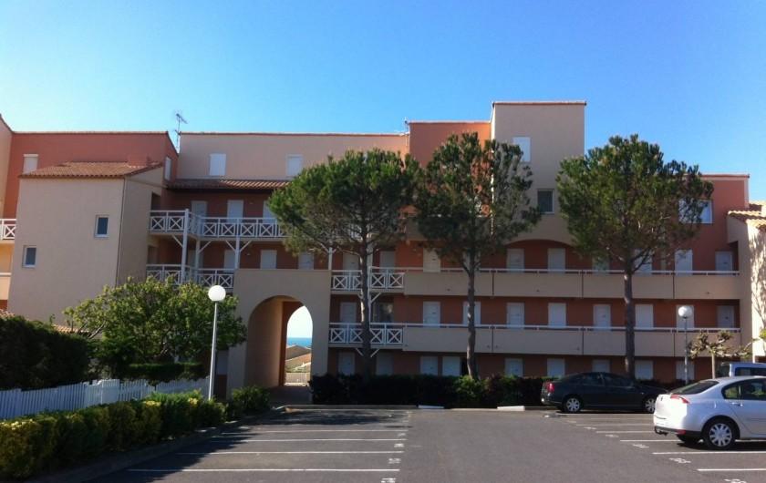 Location de vacances - Appartement à Saint-Pierre la Mer - Parking Privé et sécurisé