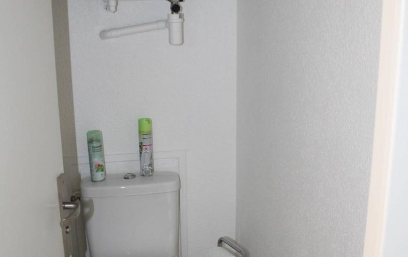 Location de vacances - Appartement à Banyuls-sur-Mer - WC séparés Cumulus 100 l