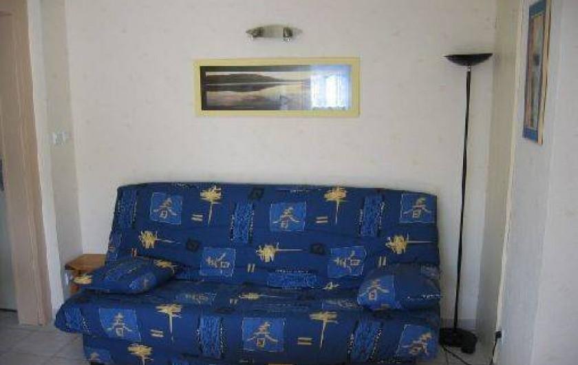 Location de vacances - Appartement à Gérardmer - clic clac dans pièce de vie