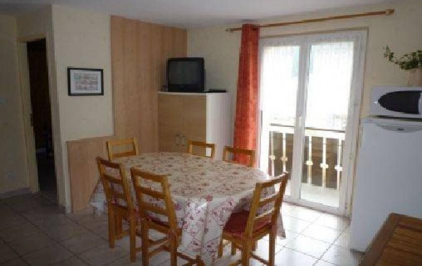 Location de vacances - Appartement à Gérardmer - pièce de vie