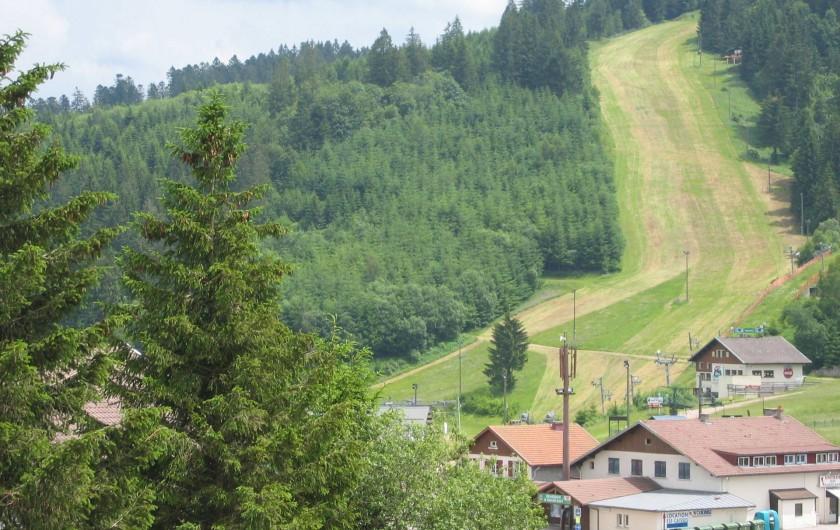 Location de vacances - Appartement à Gérardmer - vue depuis l'appartement