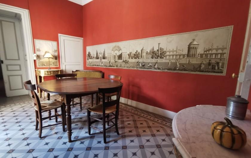 Location de vacances - Chambre d'hôtes à Jonquières - salon détente, salle à manger