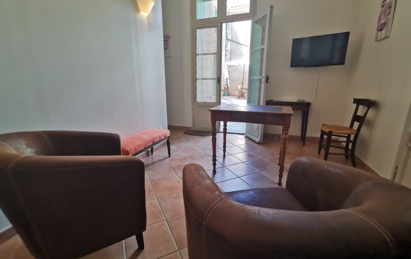 Location de vacances - Chambre d'hôtes à Jonquières - Salon de détente