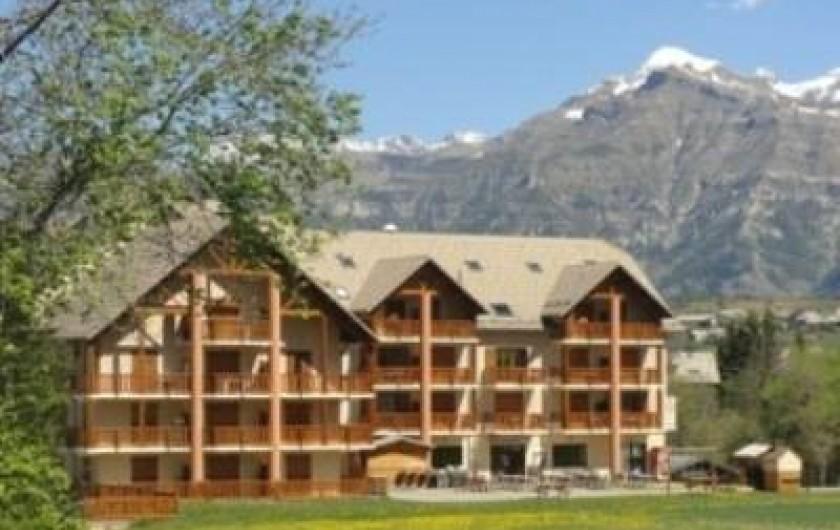 Location de vacances - Appartement à Ancelle - Résidence l'été