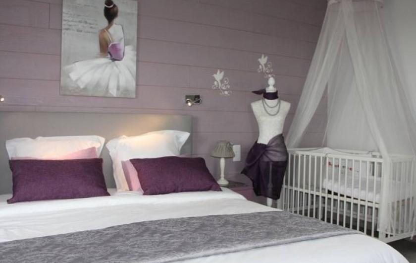 Location de vacances - Gîte à Sept-Frères - la chambre très cozy